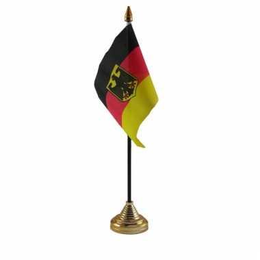 Duitse brussel vergadering tafelvlag