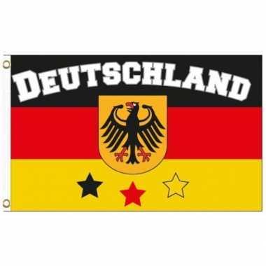 Duitse  fan vlag