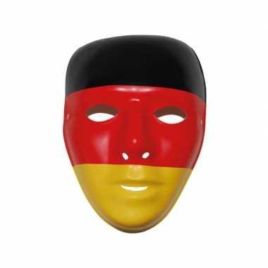 Duitse supporters masker