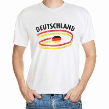 Duitse  vlaggen t-shirts heren