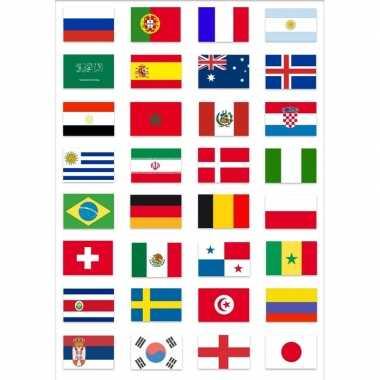 Duitse wereld kampioenschap voetbal 2018 vlag pakket gekwalificeerde