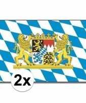 Duitse 2x landenvlaggen bayern bijeren
