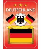 Duitse deutschland deurposter wapen